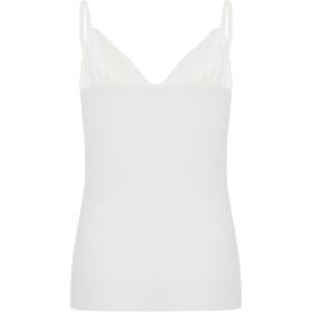 super.natural Vivien Rib Top Dame fresh white